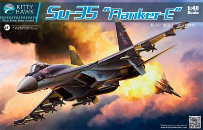 1/48 Sukhoi Su-35 Franker E Plastic Model(Back-order)(1/48 スホーイ Su-35 フランカーE プラモデル)