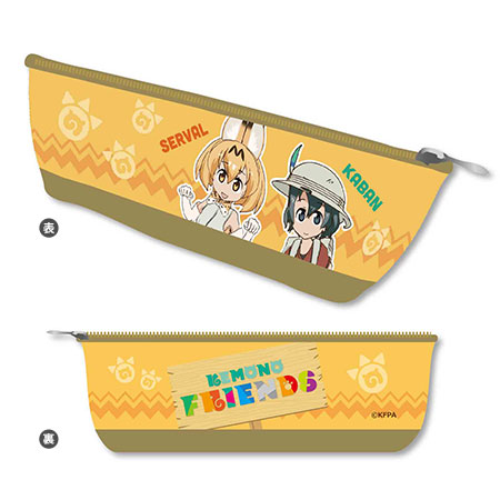 Boat Pen Pouch - Kemono Friends / A(Released)(ボートペンポーチ けものフレンズ/A)