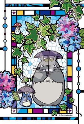 Art Crystal Jigsaw - My Neighbor Totoro: Hydrangea Garden 126pcs (126-AC61)(Released)(アートクリスタルジグソー となりのトトロ アジサイの庭 126ピース(126-AC61))