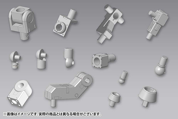 M.S.G モデリングサポートグッズ メカサプライ06 ジョイントセットB(M.S.G Modeling Support Goods - Mecha Supply 06 Joint Set B(Back-order))