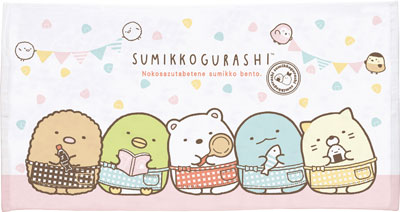 CM78901 Sumikko Gurashi - Bath Towel M(Released)(CM78901 すみっコぐらし バスタオルM)