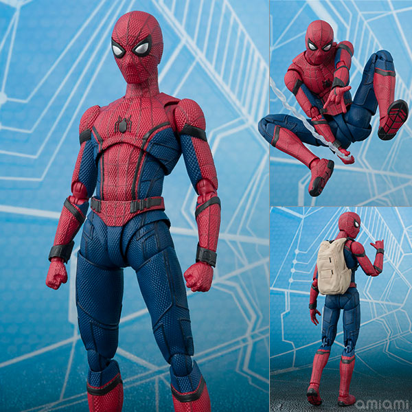 S.H. Figuarts - Spider-Man (Homecoming)(Released)(S.H.フィギュアーツ スパイダーマン(ホームカミング))