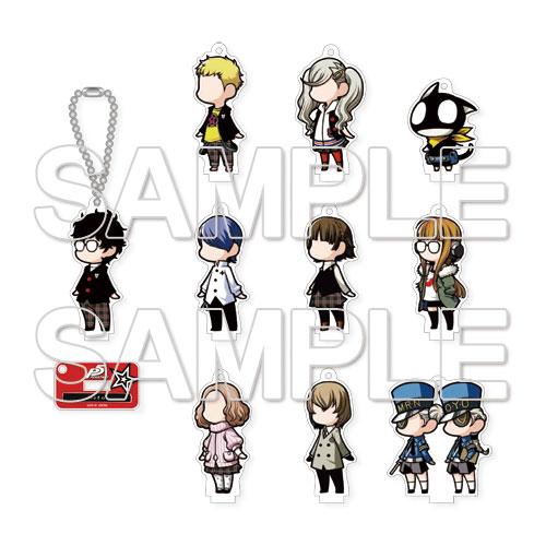 """Persona 5"" Trading Acrylic Mascot Tartaros Gekijou Wild 10Pack BOX(Released)(『ペルソナ5』トレーディングアクリルマスコット タルタロス劇場ワイルド 10個入りBOX)"