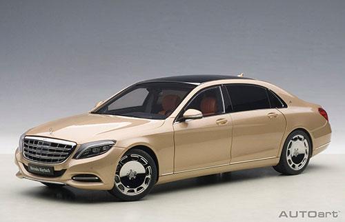 コンポジットモデル 1/18 メルセデス・マイバッハ S 600 (シャンパン・ゴールド)[オートアート]《取り寄せ※暫定》