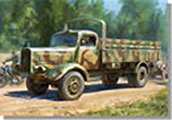 1/35 Germany forces 4.5t cargo truck WW2 plastic model [ズベズダ] << make a reservation in the summer in a month >>