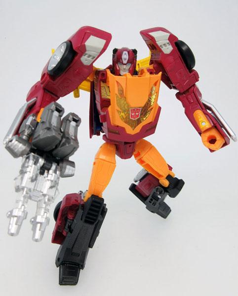 Transformers Legends LG45 Targetmaster Hot Rodimus(Released)(トランスフォーマーレジェンズ LG45 ターゲットマスターホットロディマス)