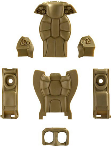 Maschinen Krieger 1/20 S.A.F.S./Raptor Interior Parts(Released)(マシーネンクリーガー 1/20 S.A.F.S./ラプター内装パーツ)