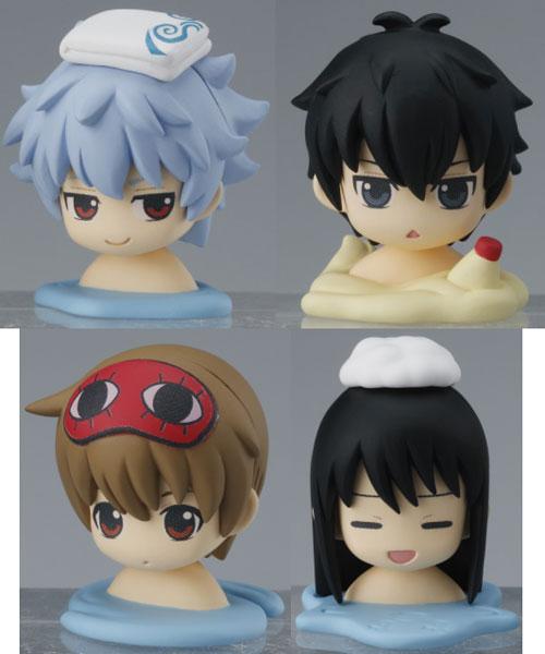 "oh!-egg ""Gintama"" Bath Ball 4Pack BOX(Released)(oh!-egg 銀魂 バスボール 4個入りBOX)"