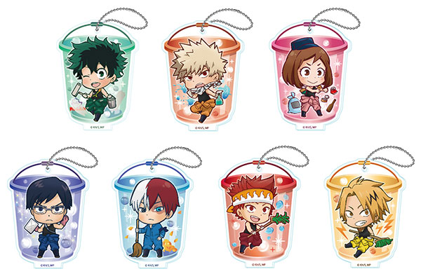 My Hero Academia - Toji Colle Acrylic Keychain Vol.2 7Pack BOX(Released)(僕のヒーローアカデミア とじコレ アクリルキーチェーンVol.2 7個入BOX)