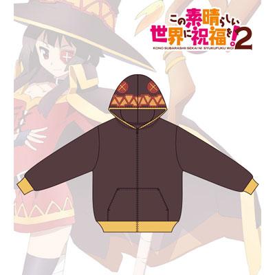 KonoSuba 2 - Full Graphic Parka (Megumi's Cape) / Men's (Size / L)(Released)(この素晴らしい世界に祝福を!2 フルグラフィックパーカー(めぐみんのマント)/メンズ(サイズ/L))