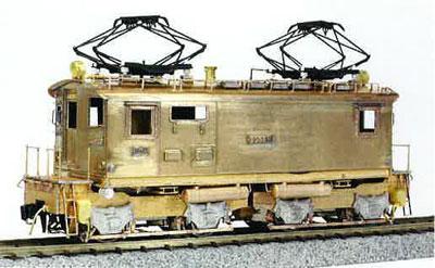 16番 国鉄 ED36 1号機 電気機関車 II 塗装済完成品[ワールド工芸]【同梱不可】【送料無料】《在庫切れ》
