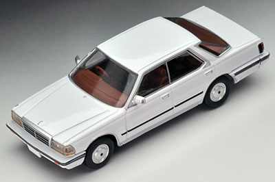 Tomica Limited Vintage NEO LV-N150a Gloria V30 Brougham (White)(Released)(トミカリミテッドヴィンテージ ネオ LV-N150a グロリアV30ブロアム(白))