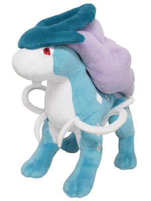 Pokemon Plush - ALL STAR COLLECTION PP64 Suicune (S)(Released)(ポケットモンスター ぬいぐるみ ALL STAR COLLECTION PP64 スイクン (S))
