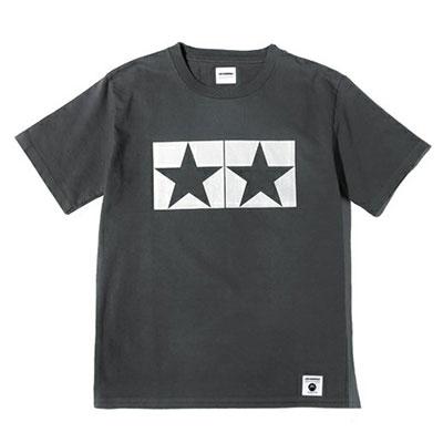 JUN WATANABE タミヤマークTシャツ〈ジャパンメイド〉 (グレイ/M)[タミヤ]《発売済・在庫品》
