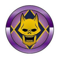 JoJo's Bizarre Adventure Part.IV - Aluminum Button Sticker Compatible with Fingerprint Authentication: Killer Queen(Released)(ジョジョの奇妙な冒険 第4部 アルミボタンシール 指紋認証対応 キラークイーン)
