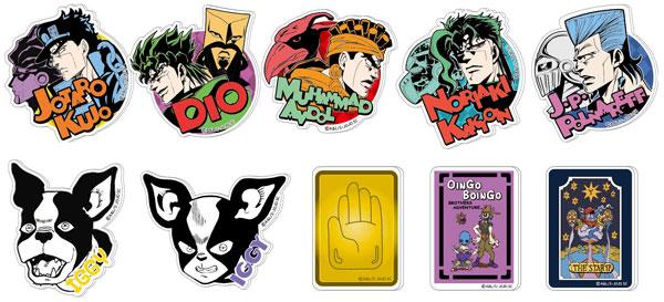 Acrylic Badge - JoJo's Bizarre Adventure Part.III 10Pack BOX(Released)(アクリルバッジ ジョジョの奇妙な冒険 第3部 10個入りBOX)