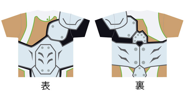KING OF PRISM -PRIDE the HERO- Battle Suit (Kaduki Nishina ver.) Full Graphic T-shirt / M Size(Released)(KING OF PRISM -PRIDE the HERO-バトルスーツ(仁科カヅキver.)フルグラフィックTシャツ Mサイズ)