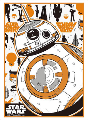 "Bushiroad Sleeve Collection High Grade Vol.1280 STAR WARS ""BB-8"" Part.2 Pack(Released)(ブシロードスリーブコレクション ハイグレード Vol.1280 STAR WARS 『BB-8』Part.2 パック)"