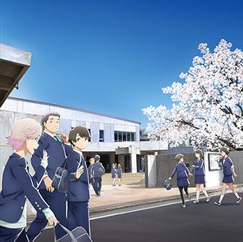 "BD TV Animation ""Tsuki ga Kirei"" Blu-ray Disc BOX First Press Limited Edition(Released)(BD TVアニメーション『月がきれい』 Blu-ray Disc BOX 初回生産限定版)"