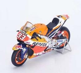 1/12 Honda RC213V #93 - Repsol Honda Team Winner Japanese GP - World Champion 2016 Marc Marquez[スパーク]《在庫切れ》