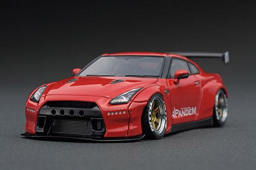 ★大人気商品★ 1/43 PANDEM GT-R R35 PANDEM GT-R R35 Red[イグニッションモデル]《在庫切れ》, ネイルスタイル:e48e8836 --- bungsu.net