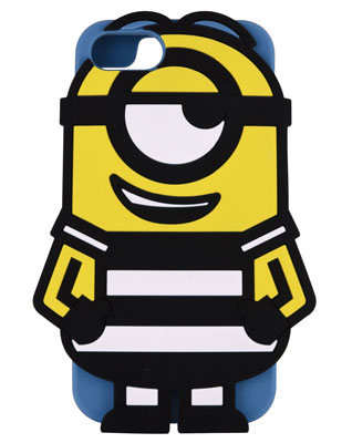 (Despicable Me Series) Minions - iPhone 7/6s/6 Diecut Silicone Case: Prisoner Stuart (MINI-33A)(Pre-order)( (怪盗グルーシリーズ) ミニオンズ iPhone7/6s/6対応 ダイカットシリコンケース 囚人スチュアート (MINI-33A))