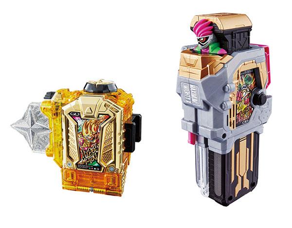 仮面ライダーエグゼイド DXハイパームテキガシャット&マキシマムマイティXガシャットセット(Kamen Rider Ex-Aid - DX Hyper Muteki Gashat & Maximum Mighty X Gashat Set(Released))