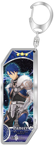 Fate/Grand Order - Servant Keychain 59: Lancer/Cu Chulainn [Prototype](Released)(Fate/Grand Order サーヴァントキーホルダー59 ランサー/クー・フーリン〔プロトタイプ〕)