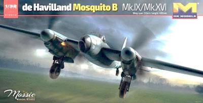 1/32 デ・ハビランド モスキート B Mk.IX/Mk.XVI プラモデル[HK MODEL]《取り寄せ※暫定》