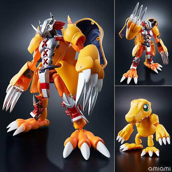 "Digivolving Spirits 01 WarGreymon Kanzen Henkei Figure ""Digimon Adventure""(Pre-order)(超進化魂 01 ウォーグレイモン 完全変形フィギュア 『デジモンアドベンチャー』)"