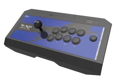 リアルアーケードPro.V サイレントHAYABUSA ヘッドセット端子付 for PlayStation4 / PlayStation3 / PC[ホリ]《取り寄せ※暫定》