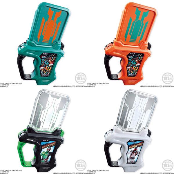 Sound Rider Gashat Series - Kamen Rider Ex-Aid SG Rider Gashat 06 8Pack BOX (CANDY TOY)(Released)(サウンドライダーガシャットシリーズ 仮面ライダーエグゼイド SGライダーガシャット06 8個入りBOX (食玩))