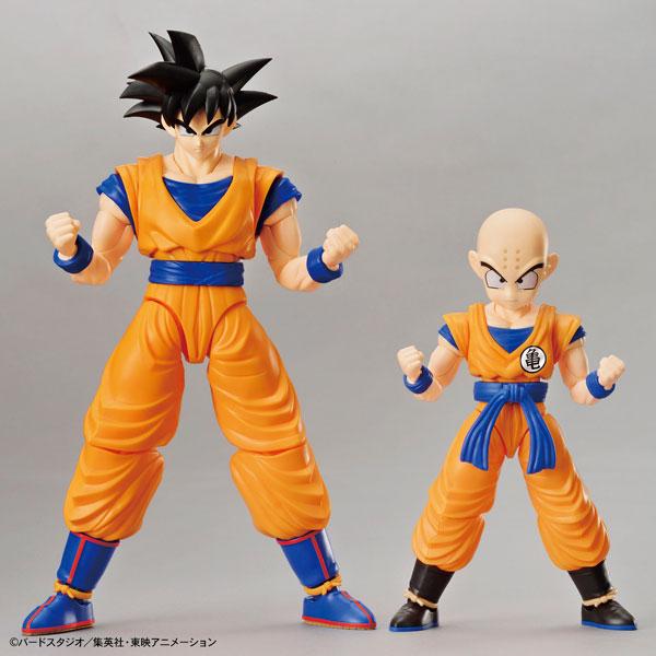 """フィギュアライズ スタンダード 孫悟空&クリリン DXセット プラモデル 『ドラゴンボールZ』より(Figure-rise Standard - Son Goku & Krillin DX Set Plastic Model from """"Dragon Ball Z""""(Released))"""