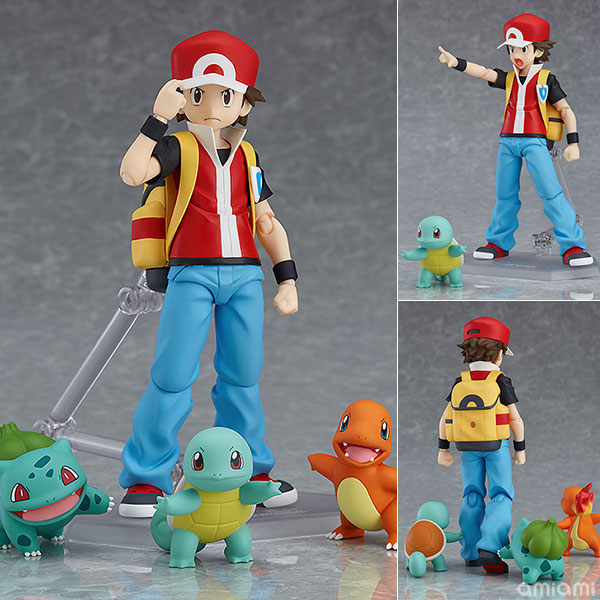 figma - Pokemon: Red(Released)(figma ポケットモンスター レッド)