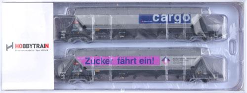 H23466-YO SBB Zuckerwagen 2両セットB[ホビートレイン]【送料無料】《取り寄せ※暫定》