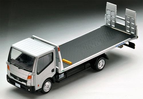 Tomica Limited Vintage NEO LV-N144b Nissan Atlas (F24) Hanamidai Jidousha Safety Loader (Silver)(Released)(トミカリミテッドヴィンテージ ネオ LV-N144b 日産アトラス(F24)花見台自動車セフテーローダ(銀))
