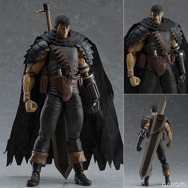 figma - Berserk: Guts Black Swordsman ver. Repaint Edition(Released)(figma ベルセルク ガッツ 黒い剣士ver. リペイントエディション)