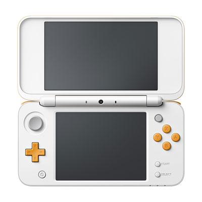 Newニンテンドー2DS LL ホワイト×オレンジ[任天堂]【送料無料】《発売済・在庫品》