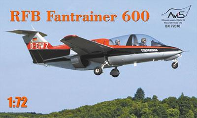 1/72 RFB Fantrainer 600 Plastic Model(Released)(1/72 RFB ファントレーナー600練習機 プラモデル)