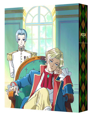 BD ACCA: 13-ku Kansatsu-ka Blu-ray BOX Vol.3 Special Package Limited Edition(Released)(BD ACCA13区監察課 Blu-ray BOX 3 特装限定版)