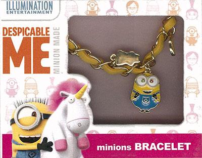 Despicable Me Series - Minions Bracelet(Back-order)(怪盗グルーシリーズ ミニオンズ ブレスレット)