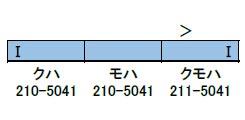 30687 完成品 JR211系5000番台(LL編成)増結3両編成セット(動力無し)(再販)[グリーンマックス]【送料無料】《取り寄せ※暫定》