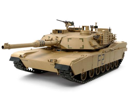 1/16 ビッグタンクシリーズ No.12 アメリカM1A2エイブラムス戦車(ディスプレイモデル) プラモデル[タミヤ]【送料無料】《取り寄せ※暫定》