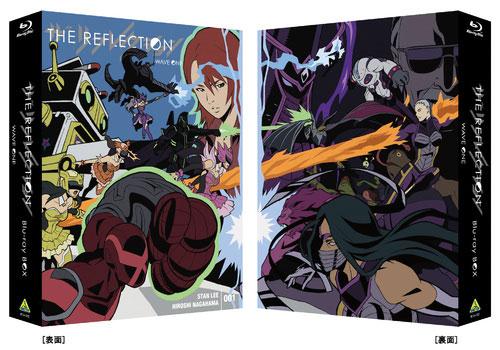 BD THE REFLECTION WAVE ONE Blu-ray BOX 初回限定版[バンダイビジュアル]【送料無料】《取り寄せ※暫定》