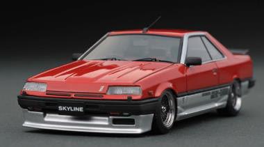 1/18 ニッサン スカイライン 2000 RS-X Turbo-C (R30) Red/Silver[イグニッションモデル]【送料無料】《発売済・在庫品》
