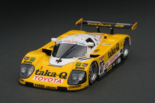 色々な 1/43 Taka-Q 1/43 トヨタ 90C-V 90C-V (#37) 1990 トヨタ Le Mans[イグニッションモデル]《在庫切れ》, ペットフード&用品の店 マブチ:01624deb --- kventurepartners.sakura.ne.jp