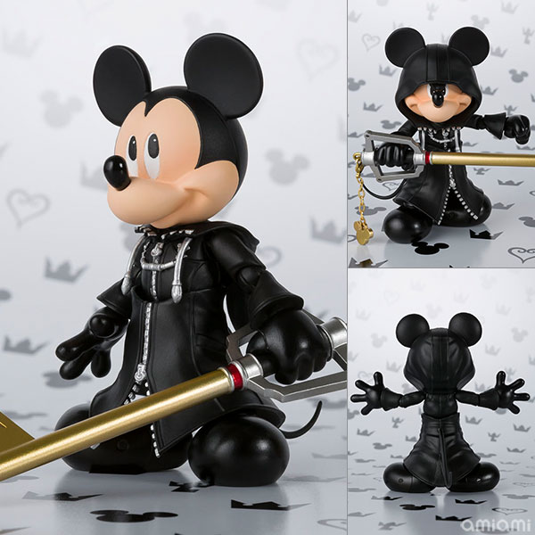 S.H. Figuarts - King Mickey (KINGDOM HEARTS II)(Pre-order)(S.H.フィギュアーツ キング ミッキー(KINGDOM HEARTS II))
