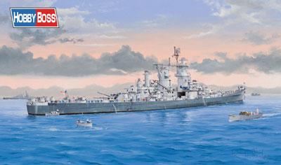 1/350 艦船 アメリカ海軍 大型巡洋艦グアムCB-2 プラモデル[ホビーボス]《取り寄せ※暫定》