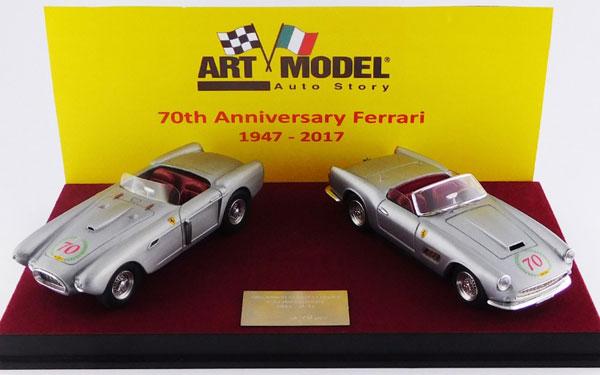 1/43 フェラーリ70周年記念セット 1947-2014 340 メキシコ スパイダー & 250 カリフォルニア[ARTMODEL]《取り寄せ※暫定》