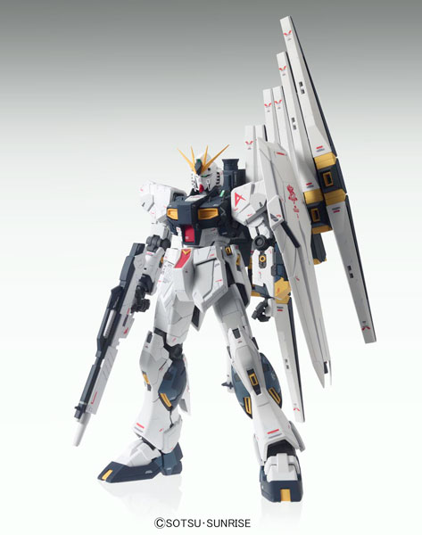 [Bonus] MG 1/100 Nu Gundam Ver.Ka Plastic Model(Released)(【特典】MG 1/100 νガンダム Ver.Ka プラモデル)
